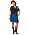 Grote maat politiejurk voor dames