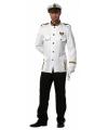 Grote maten kapitein kostuum voor heren