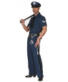 Grote maten politie kostuum