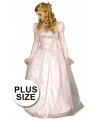 Grote maten prinsessen jurk