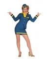 Grote maten stewardess kostuum