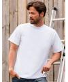 Wit grote maten t shirt 4xl
