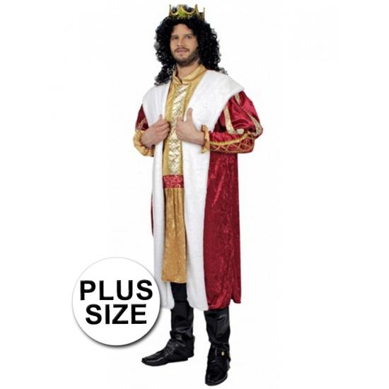 a07d02873dbcc9 Plus size koning kostuum   Zeer voordelige grote maten kleding winkel