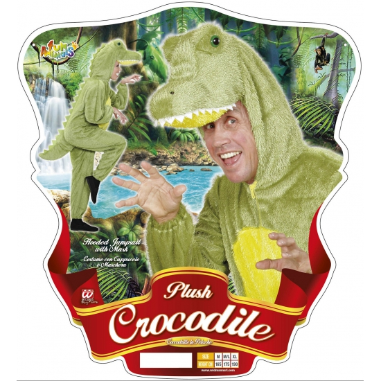 8e52bd02338 Onesie dierenpakken Krokodil | Zeer voordelige grote maten kleding ...