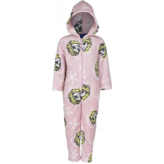 9b859b3a9a6 Roze onesie van Frozen voor kinderen | Zeer voordelige grote maten ...